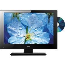"RCA DECG13DR 13.3"" TV/DVD Combo - HDTV - 16:9 - 1366 x 768 - 720p"
