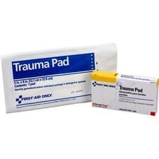 FAO AN205 First Aid Only Trauma Pad FAOAN205
