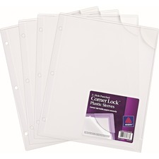 AVE 72269 Avery Corner Lock Plastic Binder Sleeve AVE72269