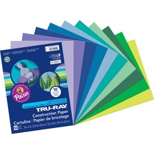 PAC 102942 Pacon Tru-Ray Heavyweight Construction Paper PAC102942