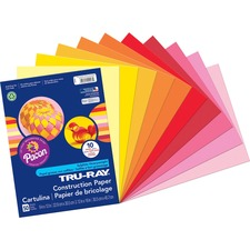 PAC 102947 Pacon Tru-Ray Heavyweight Construction Paper PAC102947