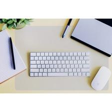 FLR FPDE1722RA Floortex Desktex Anti-slip Polycarbonate Desk Pad FLRFPDE1722RA