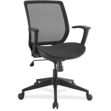 LLR 84840 Lorell Mesh/Mesh Executive Mid-back Chair LLR84840