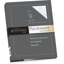 SOU P964CK336 Southworth 24 lb. Parchment Specialty Paper SOUP964CK336