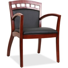 LLR20012 - Lorell Crowning Accent Wood Guest Chair