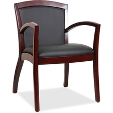 LLR 20011 Lorell Arched Arms Wood Guest Chair LLR20011