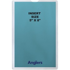 ANG1452P50 - Anglers Self-stick Crystal Clear Poly Envelopes
