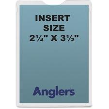 ANG 1404P50 ANGLER'S Self-stick Crystal Clear Poly Envelopes ANG1404P50