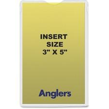 ANG 1420P50 ANGLER'S Self-stick Crystal Clear Poly Envelopes ANG1420P50