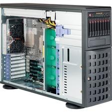 Supermicro SuperServer 7048R-TR Barebone System - 4U Tower - Intel C612 Express Chipset - Socket LGA 2011-v3 - 2 x Processor Support - Black