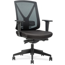 LLR30955 - Lorell Steel Frame Mid-back Chair