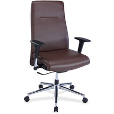 LLR34851 - Lorell Leather Suspension Chair