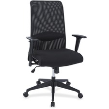 LLR 34855 Lorell Synchro-tilt Mesh Back Suspension Chair LLR34855