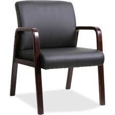 LLR 40201 Lorell Solid Wood Frame Guest Chair LLR40201