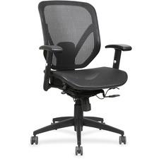 LLR40203 - Lorell Mesh Seat/Back Mid-back Chair