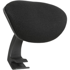 LLR40205 - Lorell Mid-back Chair Mesh Headrest
