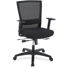 LLR 54850 Lorell Ergonomic Mid-back Mesh Chair LLR54850