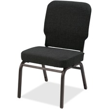 LLR 59597 Lorell Upholstered Armless Oversized Stack Chair LLR59597