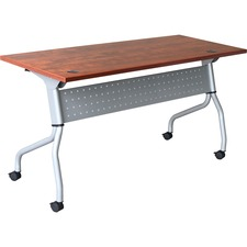 LLR60721 - Lorell Cherry Flip Top Training Table