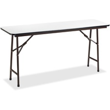 LLR60728 - Lorell Gray Folding Banquet Table