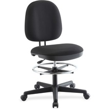 LLR 84583 Lorell Contoured Back Swivel Stool LLR84583