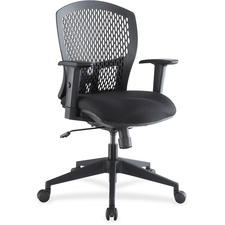 LLR 85580 Lorell Plastic Back Flex Chair LLR85580
