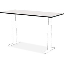 SAF 1891GR Safco Active Line Table Gray Laminate Tabletop SAF1891GR
