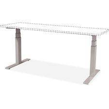 SAF 1909GR Safco Electric Height-adjustable Table Base SAF1909GR