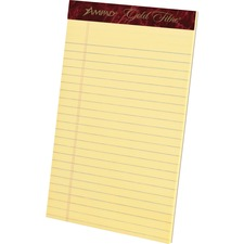 TOP 20004 Tops Gold Fibre Premium Jr. Legal Writing Pads TOP20004