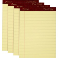 TOP 20032 Tops Gold Fibre Premium Writing Pad TOP20032