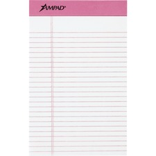 TOP 20078 Tops Pink Binding Writing Pads TOP20078