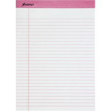 TOP 20098 Tops Pink Binding Writing Pads TOP20098