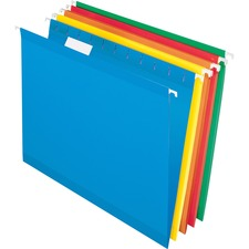 TOP 52115MIXR Tops Recycled 1/5 Cut Hanging Folders TOP52115MIXR