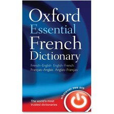 Oxford University Press Essential French Dictionary Printed Book by Oxford Dictionaries - May 2010 - Softcover - French, English