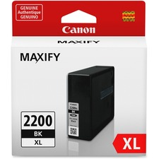 Canon PGI-2200 XL Original Ink Cartridge - Inkjet - High Yield - 2500 Pages - Black - 1 / Pack