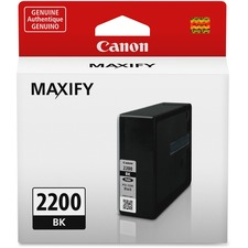 Canon PGI-2200 Original Ink Cartridge - Inkjet - Standard Yield - 1000 Pages - Black - 1 / Pack
