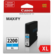 Canon PGI-2200 XL Original Ink Cartridge - Inkjet - High Yield - 1500 Pages - Cyan - 1 / Pack