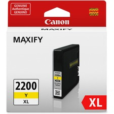 Canon PGI-2200 XL Original Ink Cartridge - Inkjet - High Yield - 1500 Pages - Yellow - 1 / Pack