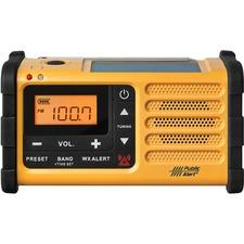 Sangean MMR-88 FM / AM / Weather / Handcrank / Solar / Emergency Alert Radio