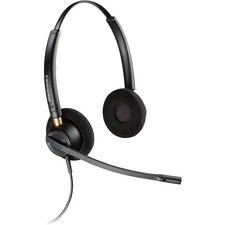 PLN HW520 Plantronics Over-the-head Binaural Corded Headset PLNHW520