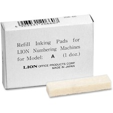 LIOPADABX - Lion Replacement Ink Pad for A Model Automatic Numbering Machines