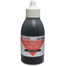 LIOMC55BKBX - Lion Fast Drying Industrial Ink, Black