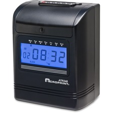 Acroprint 2-color Print Top-loading Punch Clock