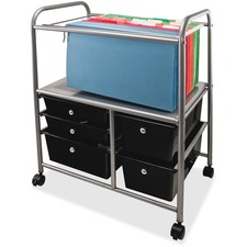 AVT 34100 Advantus 5-Drawer Storage File Cart AVT34100