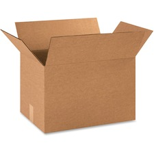BOX 181212BX BOX Partners Paper Size Corrugated Shipping Boxes BOX181212BX