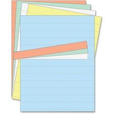 "BVC FM1614 Bi-silque 1"" Magnetic Data Card Refill Sheets BVCFM1614"