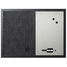 BVC MX04433168 Bi-silque MV Black Frame Combo Bulletin Board BVCMX04433168