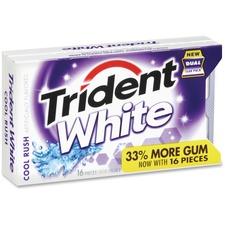 CDB 6763800 Cadbury Trident Cool Rush White Sugar-free Gum CDB6763800