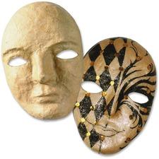 """CKC 4190 Chenille Kraft 8"""" Papier Mache Mask CKC4190"""