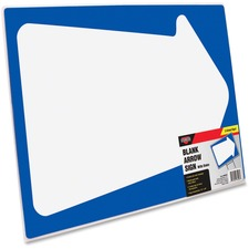 COS J1098226 Cosco Blank White Arrow Stake Sign COSJ1098226